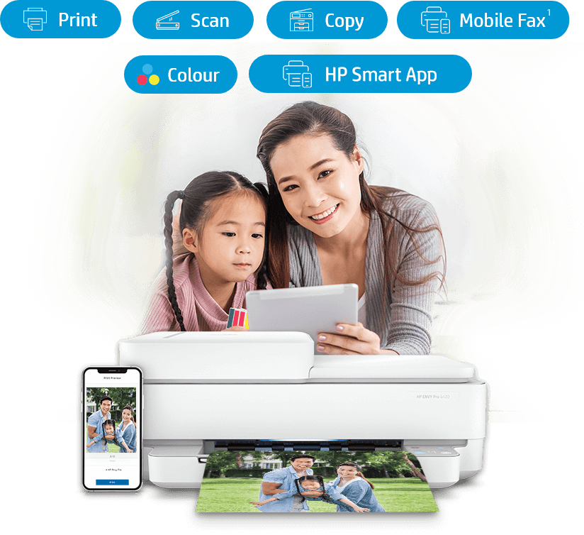 HP ENVY Pro 6420 All-In-One Printer